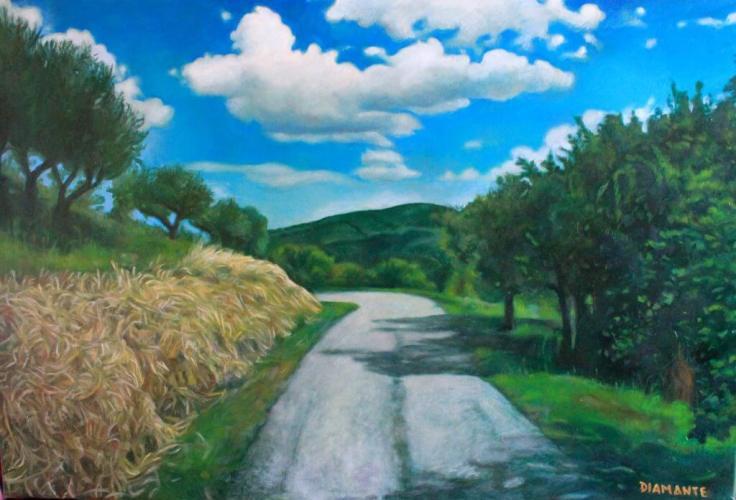 Strada del monte Trebbio